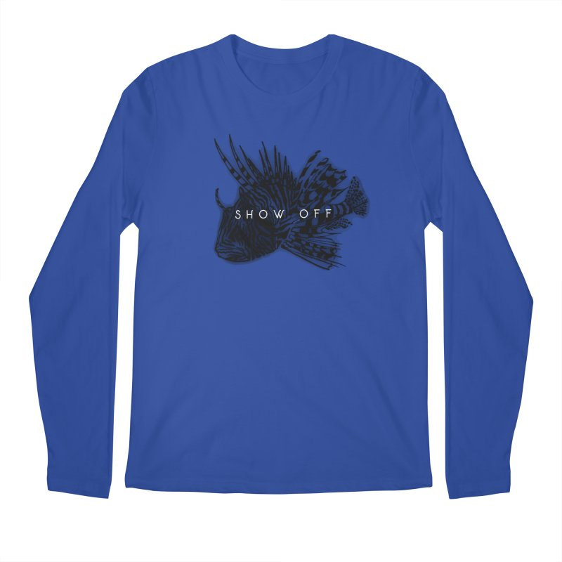 lion stripes Men's Regular Longsleeve T-Shirt by joe's shop
