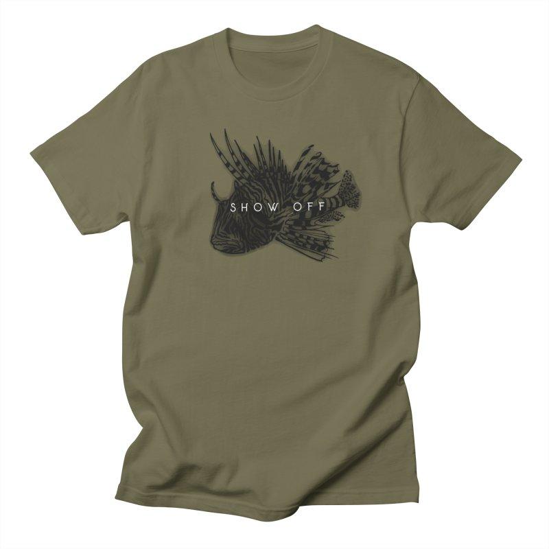 lion stripes Women's Regular Unisex T-Shirt by joe's shop