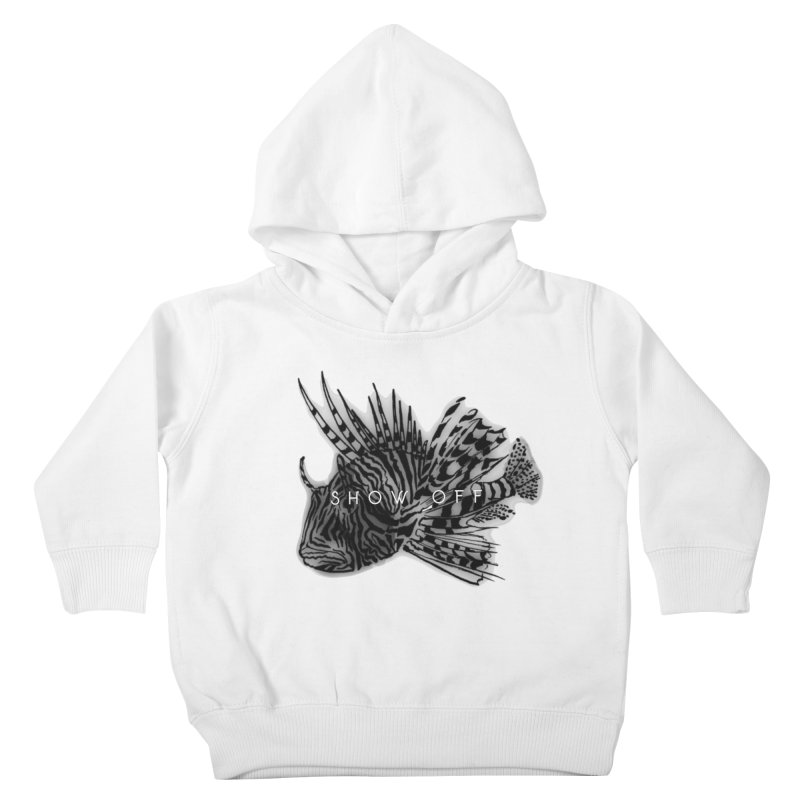 lion stripes Kids Toddler Pullover Hoody by joe's shop