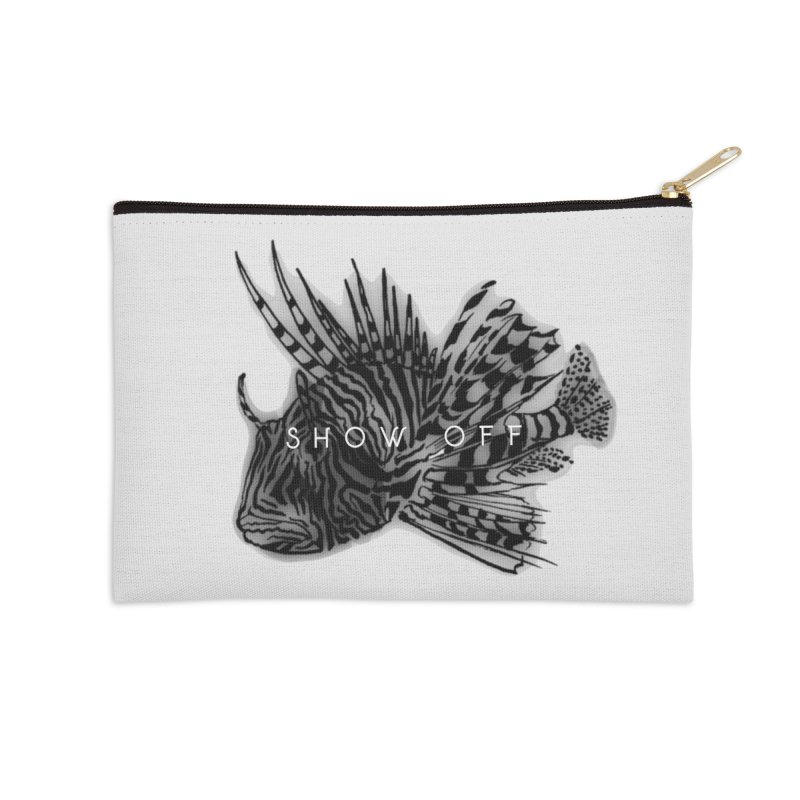 lion stripes Accessories Zip Pouch by joe's shop