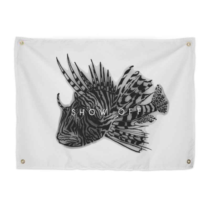 lion stripes Home Tapestry by joe's shop