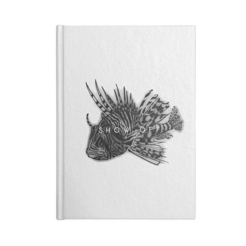 lion stripes Accessories Lined Journal Notebook by joe's shop