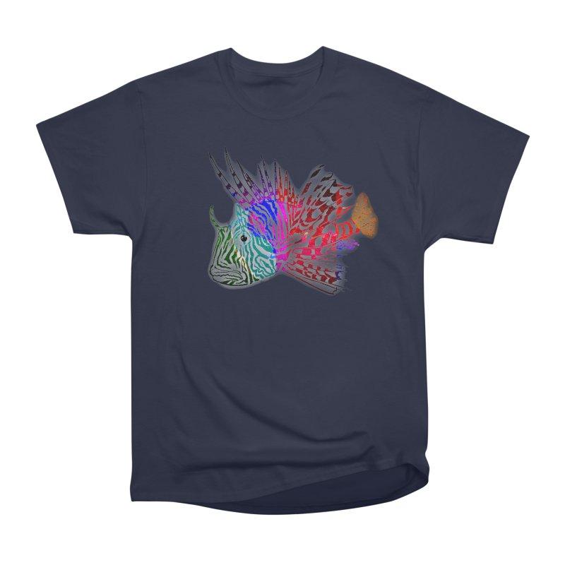 spaced lionfish Men's Heavyweight T-Shirt by joe's shop