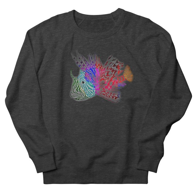 spaced lionfish Women's French Terry Sweatshirt by joe's shop