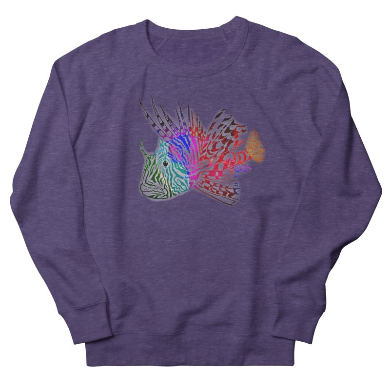 spaced lionfish Women's Sweatshirt by joe's shop