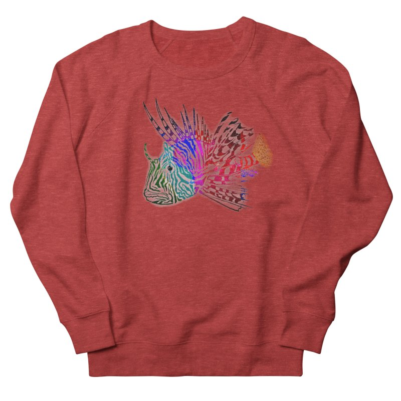 spaced lionfish Women's French Terry Sweatshirt by joe's shop