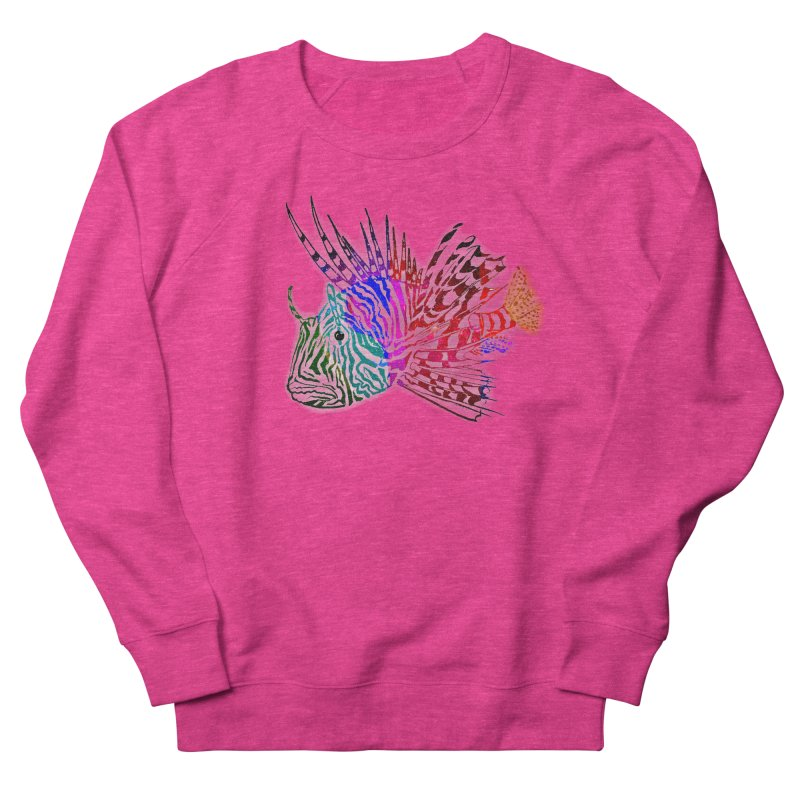 spaced lionfish Men's French Terry Sweatshirt by joe's shop