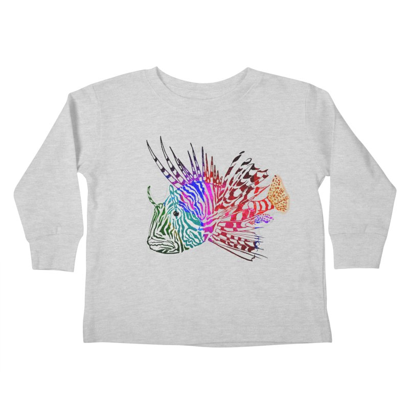 spaced lionfish Kids Toddler Longsleeve T-Shirt by joe's shop