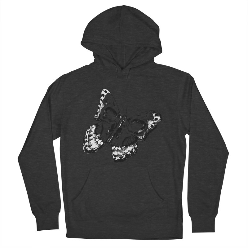 death flutterby Men's French Terry Pullover Hoody by joe's shop