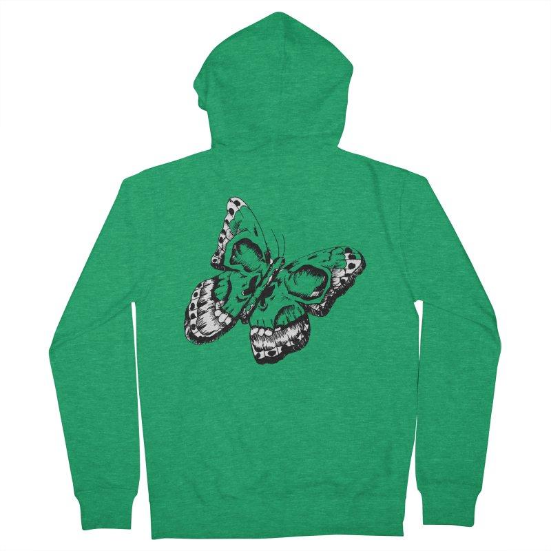 death flutterby Women's Zip-Up Hoody by joe's shop