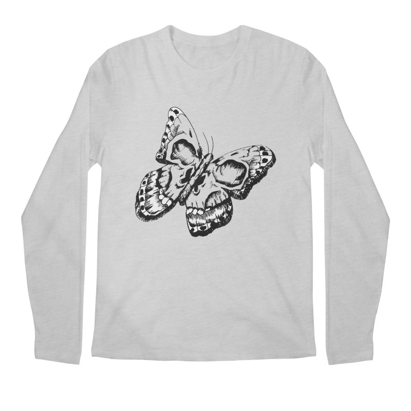 death flutterby Men's Regular Longsleeve T-Shirt by joe's shop