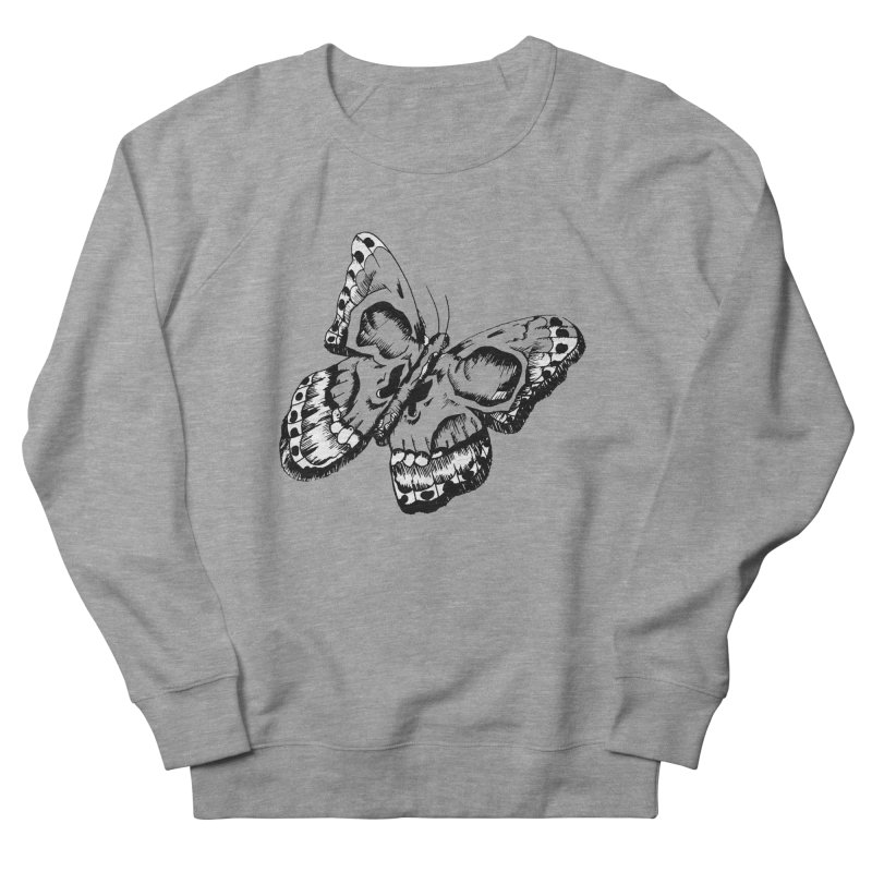 death flutterby Women's French Terry Sweatshirt by joe's shop