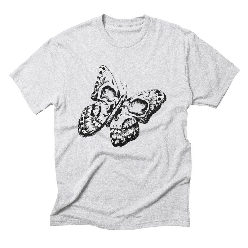 death flutterby Men's Triblend T-Shirt by joe's shop