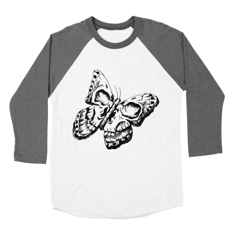 death flutterby Women's Baseball Triblend Longsleeve T-Shirt by joe's shop