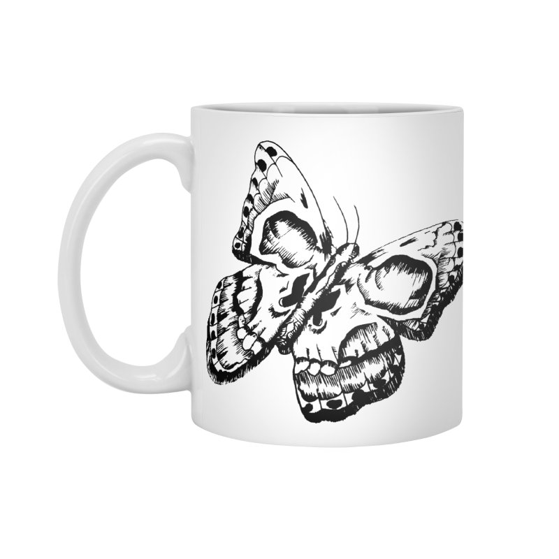 death flutterby Accessories Mug by joe's shop