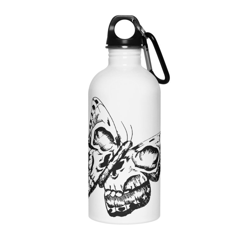 death flutterby Accessories Water Bottle by joe's shop