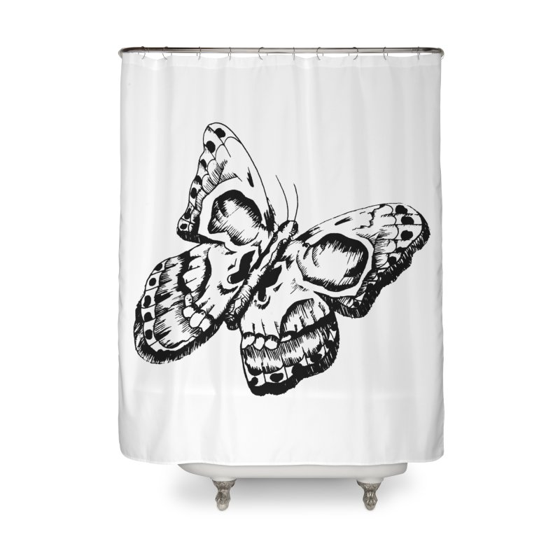 death flutterby Home Shower Curtain by joe's shop