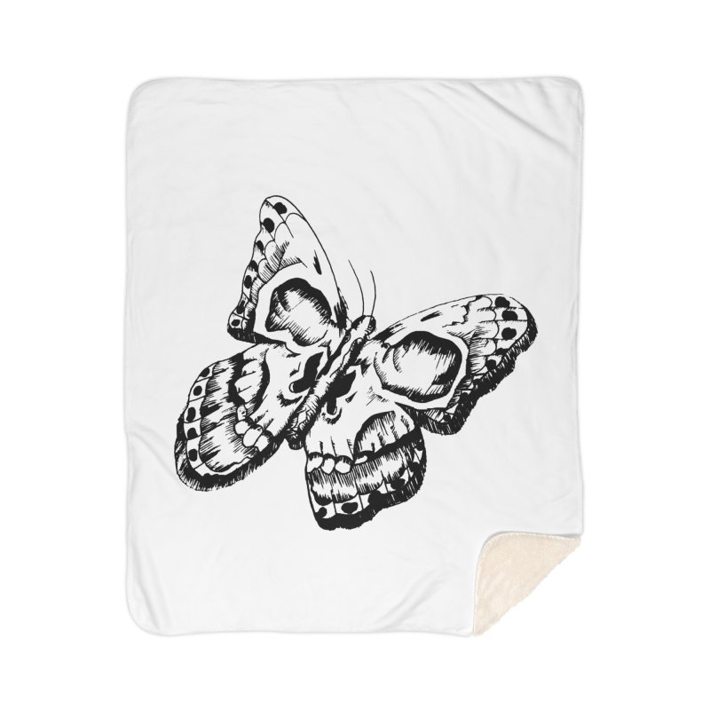 death flutterby Home Sherpa Blanket Blanket by joe's shop