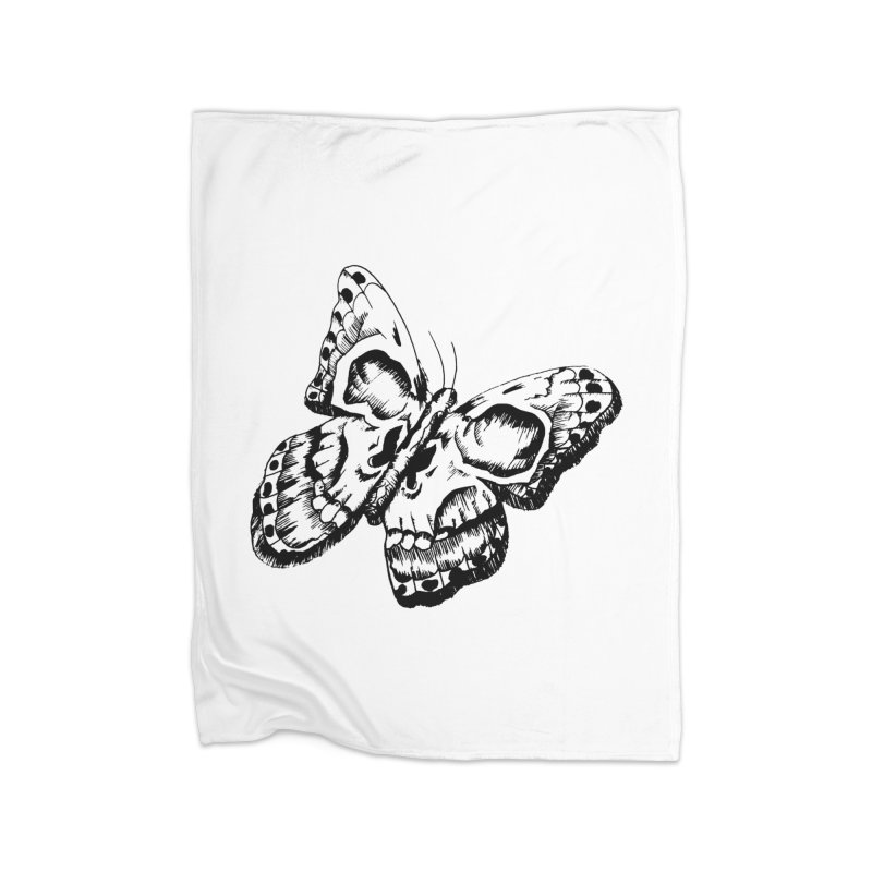 death flutterby Home Blanket by joe's shop