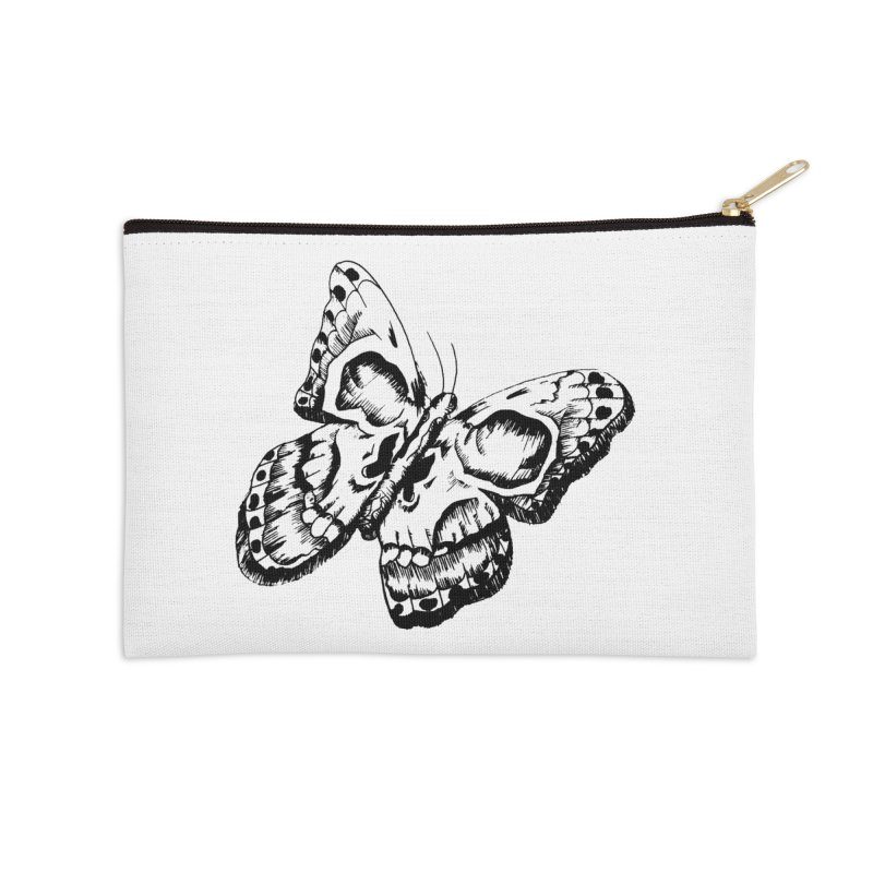 death flutterby Accessories Zip Pouch by joe's shop