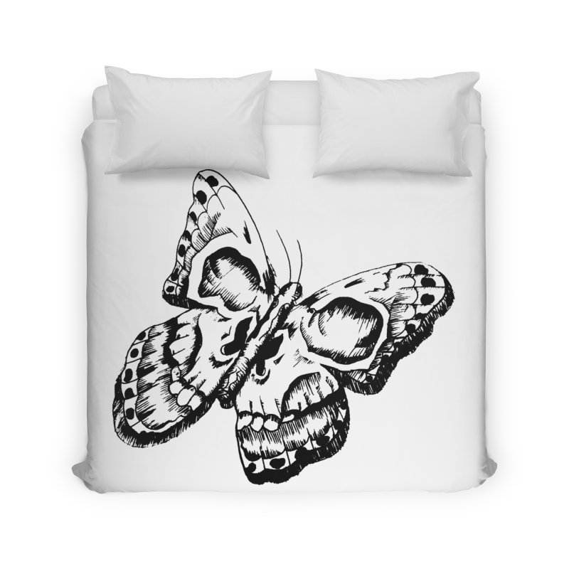 death flutterby Home Duvet by joe's shop