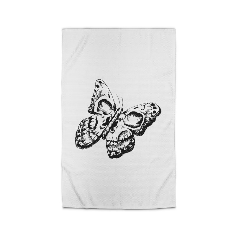 death flutterby Home Rug by joe's shop