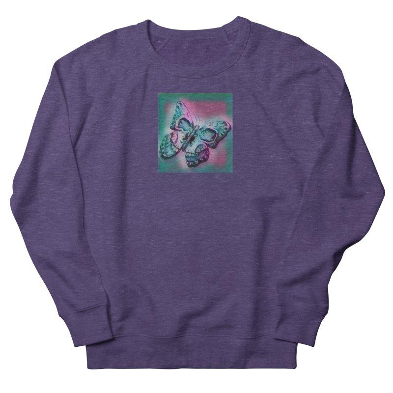death moth Women's French Terry Sweatshirt by joe's shop