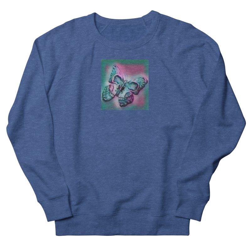 death moth Men's French Terry Sweatshirt by joe's shop