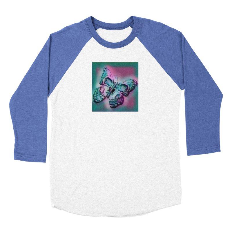 death moth Women's Baseball Triblend T-Shirt by joe's shop