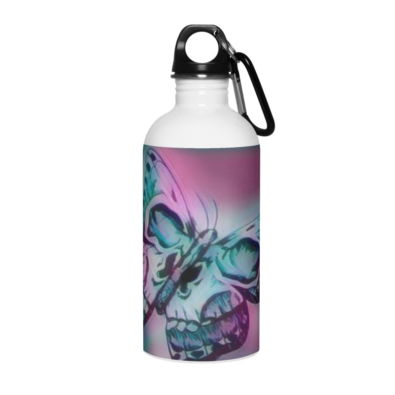 death moth Accessories Water Bottle by joe's shop