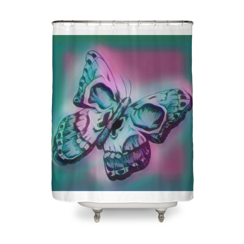 death moth Home Shower Curtain by joe's shop