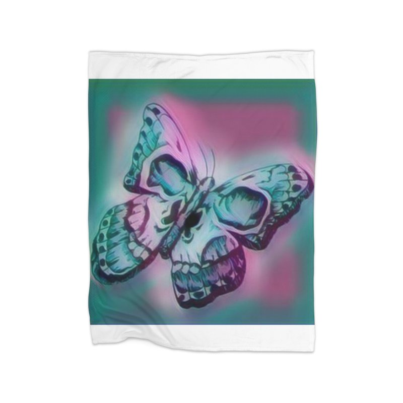 death moth Home Blanket by joe's shop