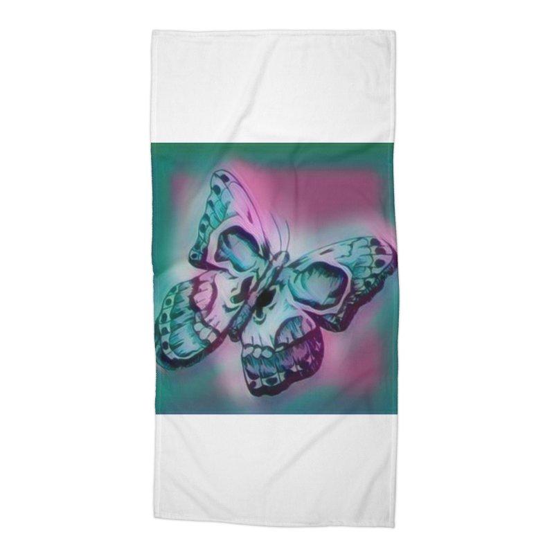 death moth Accessories Beach Towel by joe's shop