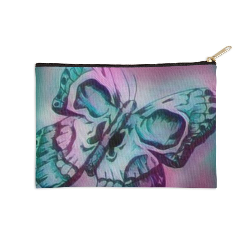 death moth Accessories Zip Pouch by joe's shop