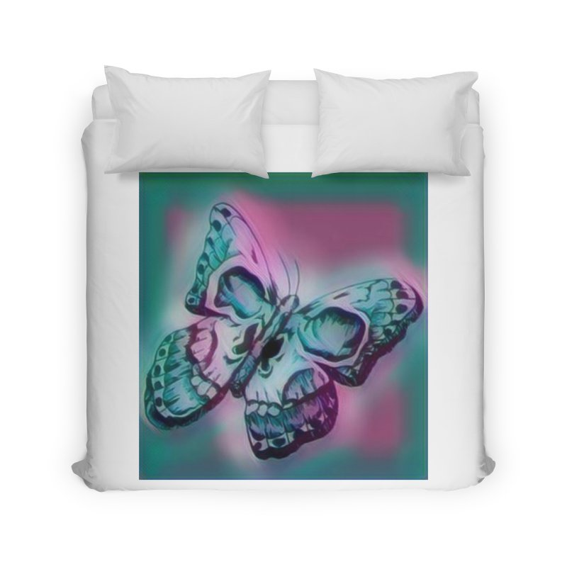 death moth Home Duvet by joe's shop