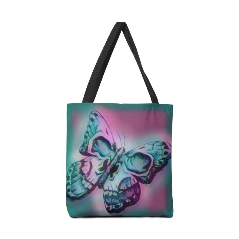 death moth Accessories Bag by joe's shop