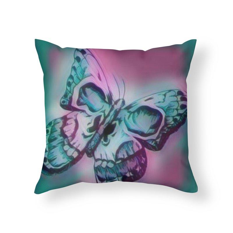 death moth Home Throw Pillow by joe's shop