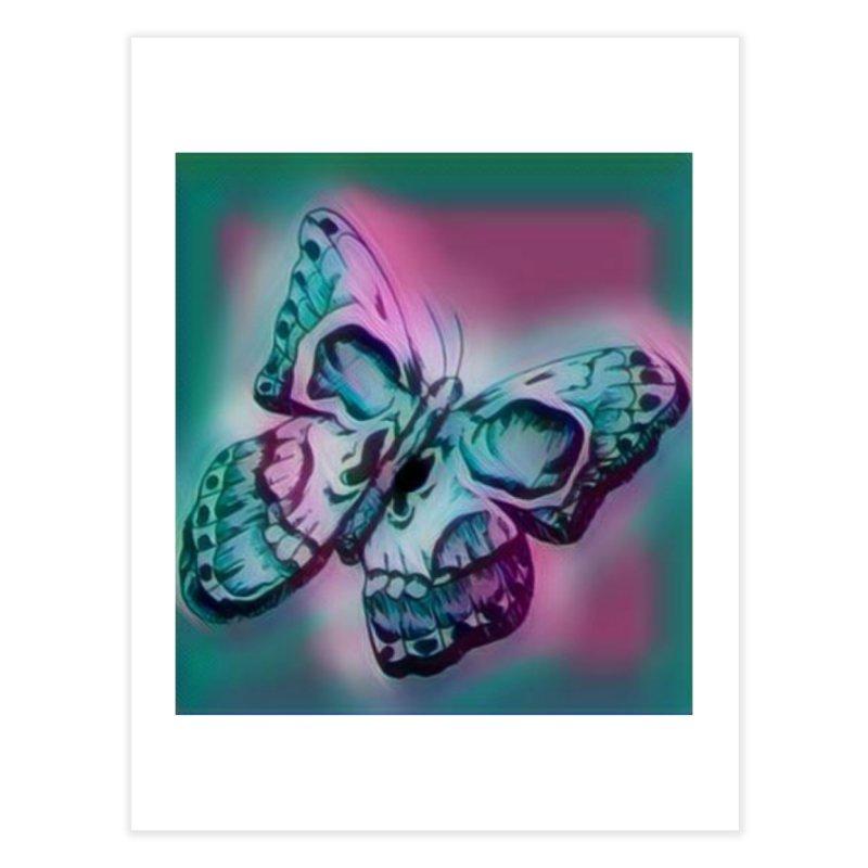 death moth Home Fine Art Print by joe's shop