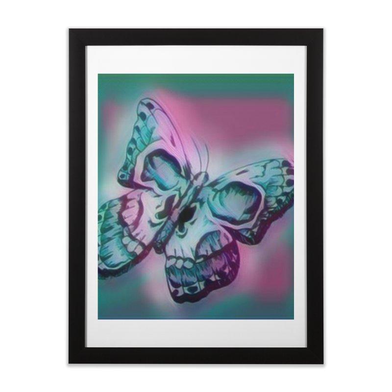 death moth Home Framed Fine Art Print by joe's shop