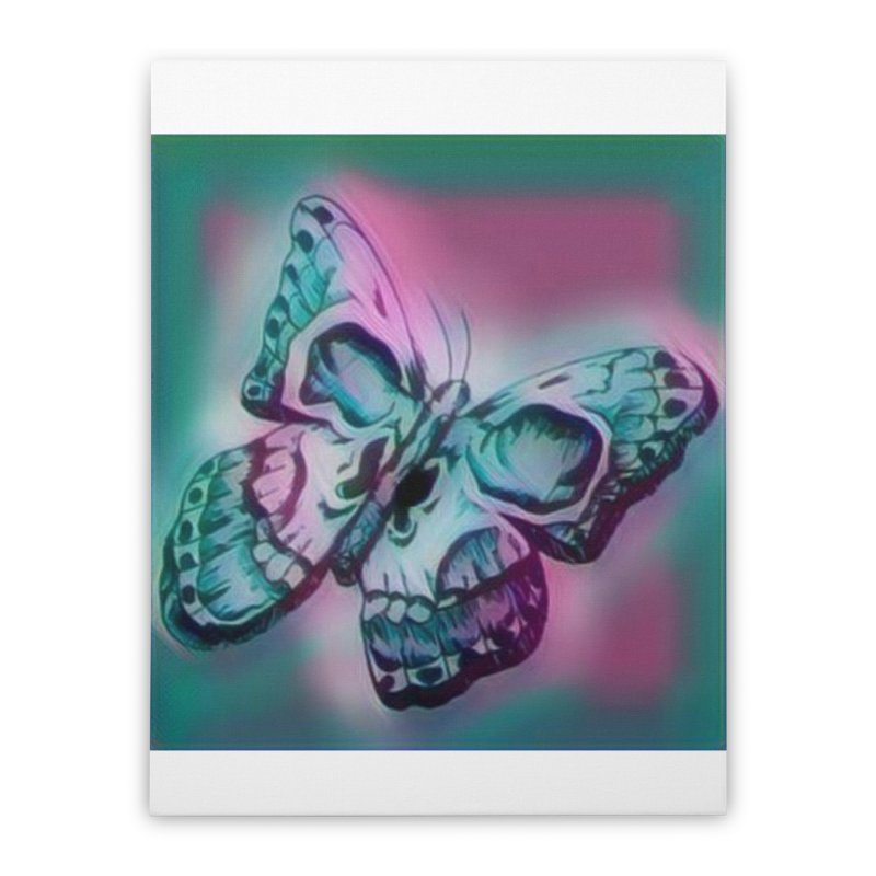 death moth Home Stretched Canvas by joe's shop