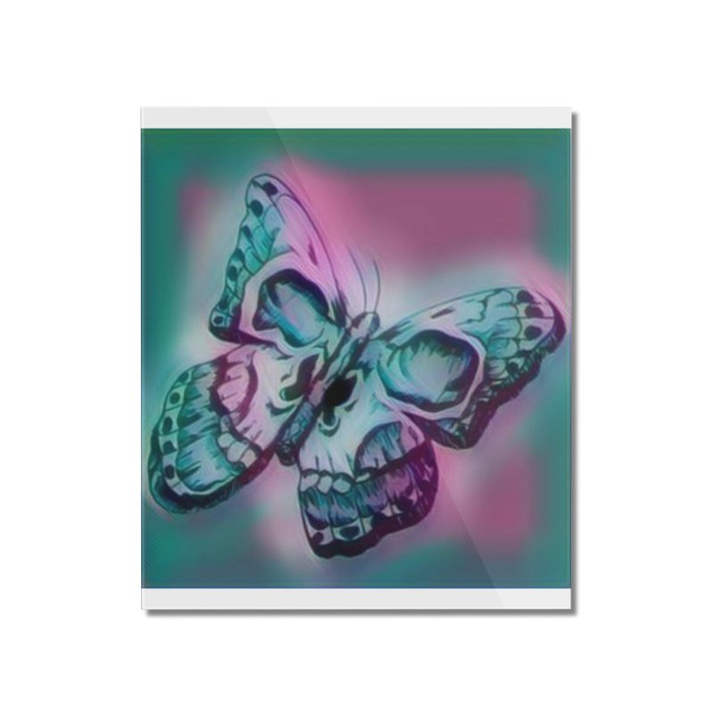 death moth Home Mounted Acrylic Print by joe's shop