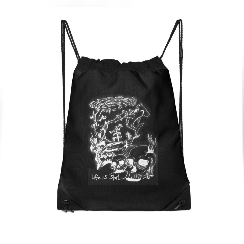 under toe Accessories Drawstring Bag Bag by joe's shop