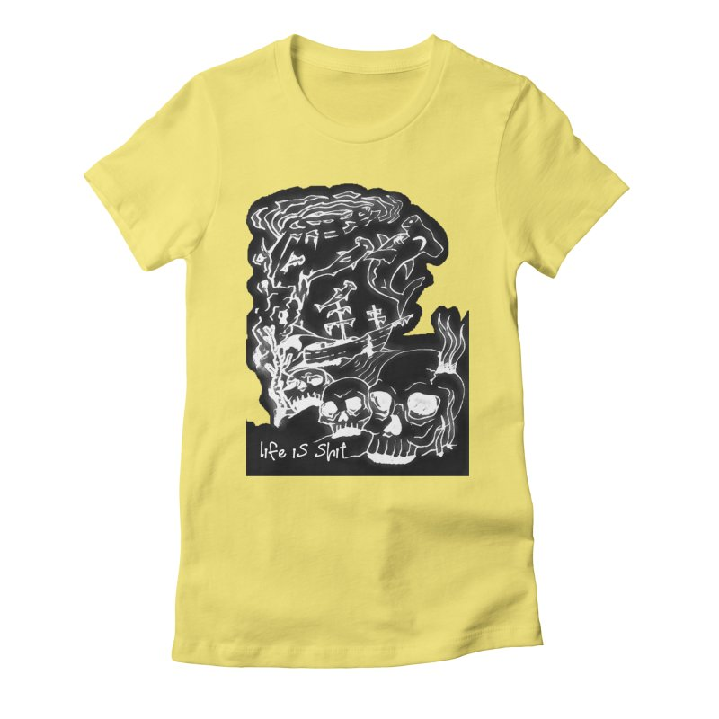 under toe Women's Fitted T-Shirt by joe's shop