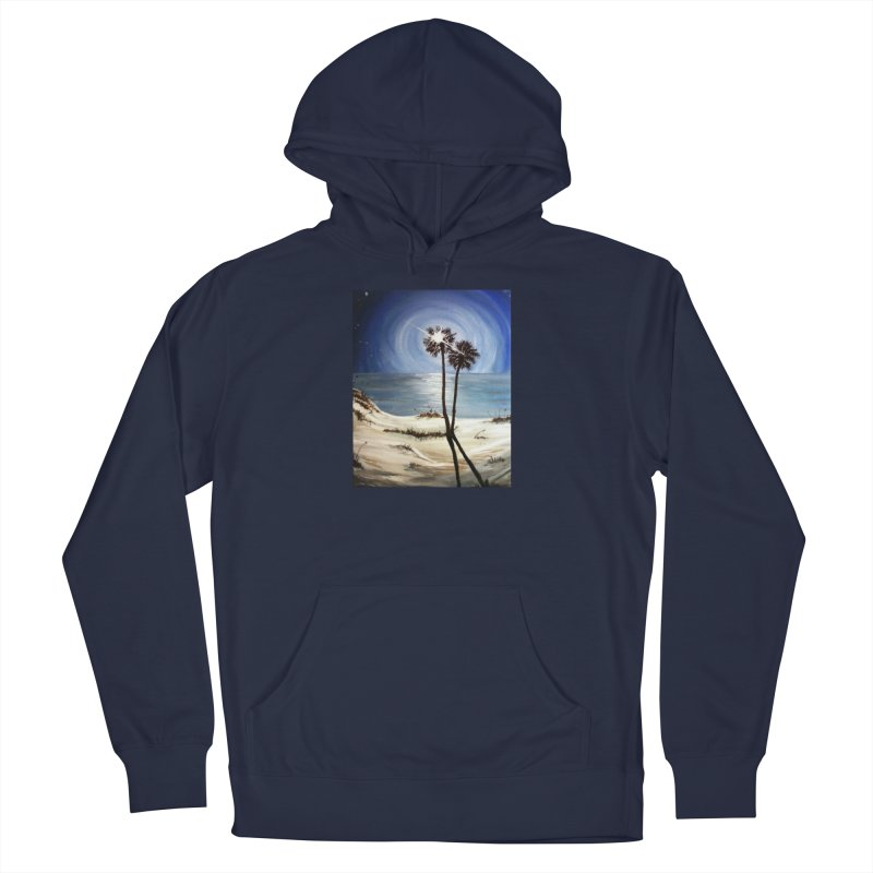two trees in the moonlight Women's French Terry Pullover Hoody by joe's shop