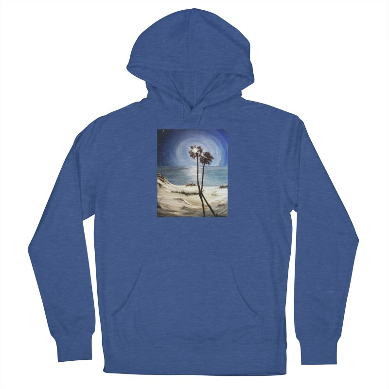 two trees in the moonlight Men's Pullover Hoody by joe's shop