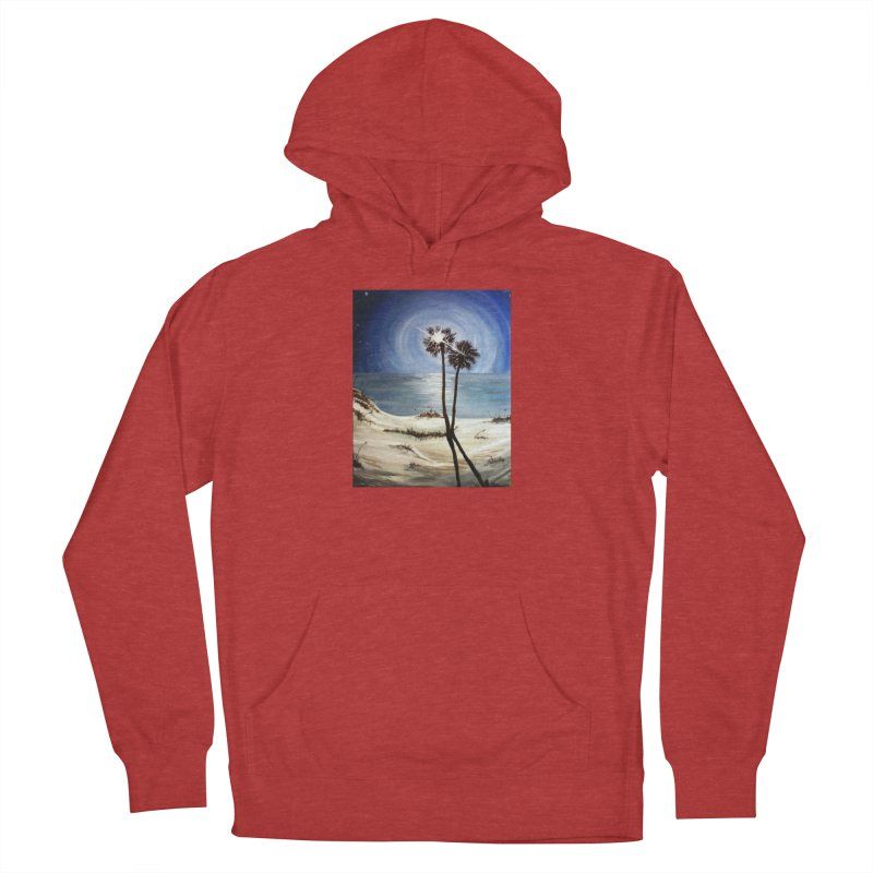 two trees in the moonlight Men's French Terry Pullover Hoody by joe's shop