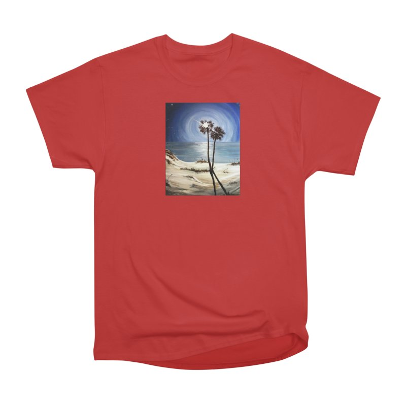 two trees in the moonlight Men's Classic T-Shirt by joe's shop
