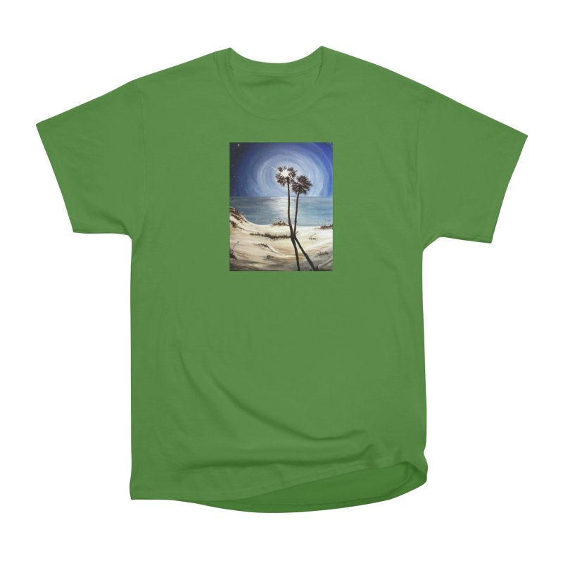 two trees in the moonlight Women's Classic Unisex T-Shirt by joe's shop