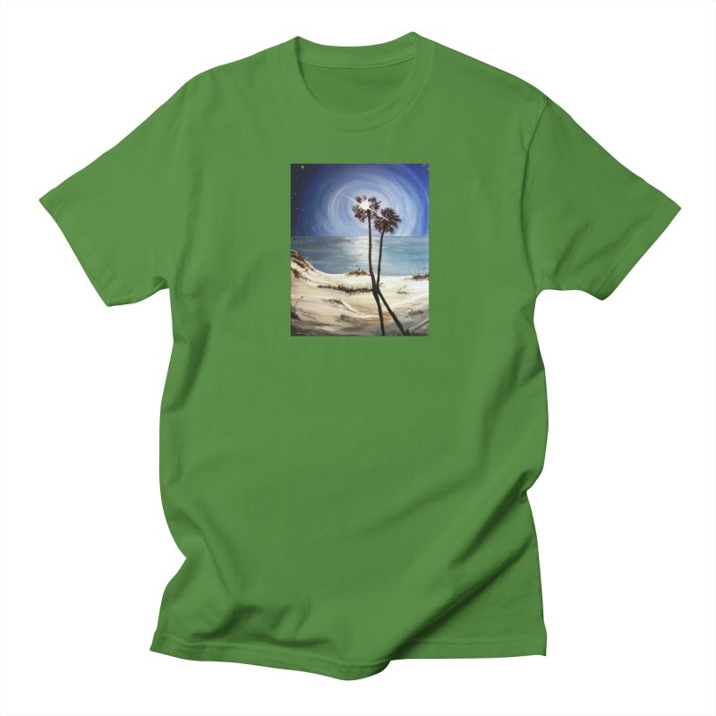 two trees in the moonlight Women's Regular Unisex T-Shirt by joe's shop