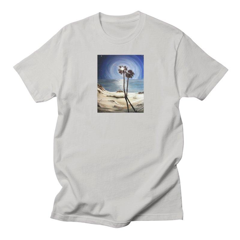 two trees in the moonlight Women's Unisex T-Shirt by joe's shop
